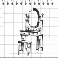 Туалетные столики, трюмо, зеркала
