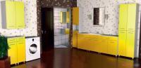 Шкафы в ванную комнату модульно