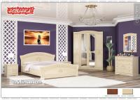 Спальня модульная МИЛАНО