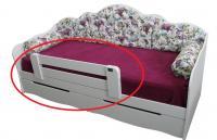 Бортик для детской кровати LION