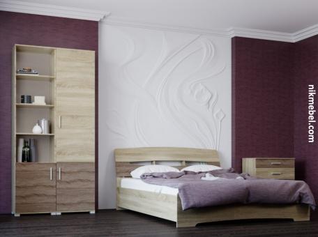 Спальня-2 БРИЗ - сонома трюфель