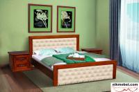 Кровать 2Сп ФРИДОМ (коллекция FREEDOM) орех/патина