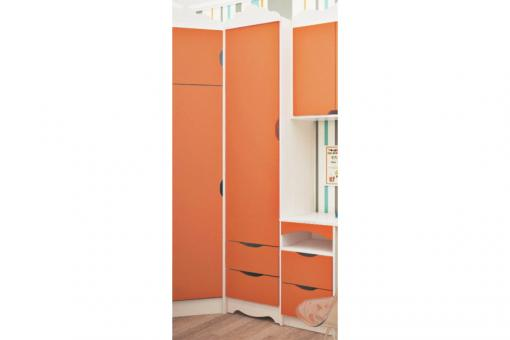 Пенал закрытый ИТАЛИЯ - нимфея альба, оранж