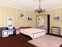 Спальня КИМ венге светлый