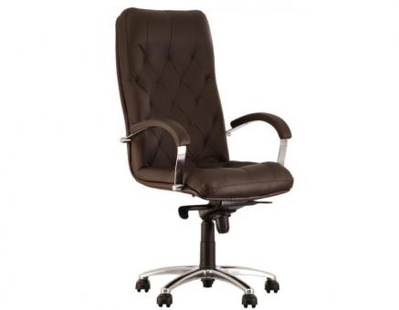 Кресло для руководителя CUBA steel chrome