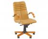 Кресло для руководителя GALAXY wood chrome LB