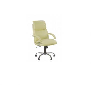 Кресло для руководителя NADIR steel chrom LB (comfort)