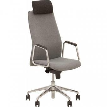 Кресло для руководителя SOLO R HR steel ES AL33