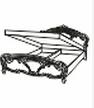 Кровать 1600 (подъемная) РЕДЖИНА ЧЕРНАЯ(REGINA BLACK)