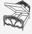 Кровать 1600 (подъемная) РЕДЖИНА ГОЛД