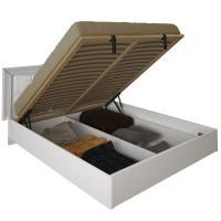 Кровать с каркасом/мягкая спинка 1600 Белла