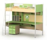 Кровать+стол BS-16-1 серия ACTIVE