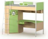 Кровать+стол+шкаф BS-16-3 серия ACTIVE