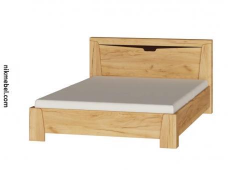 Кровать 1400 ЛИБЕРТИ - дуб крафт золотой