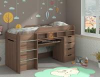 Кровать детская ЛЕГЕНДА ДСП