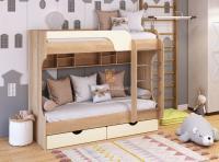 Кровать двухъярусная ЮНГА МДФ