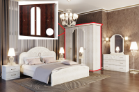 Спальня 6Д ЛАУРА Свит меблив