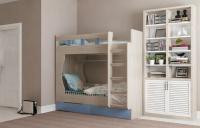 Кровать двухярусная с ящиками МАРЛИ