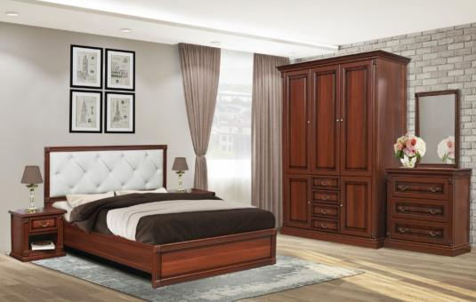 Спальня 3Дв МИРА - орех итальянский