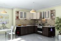 Кухня угловая МОДЕСТ 2500*2500