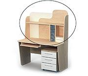 Надстройка для стола письменного M-09-1 серия MEGA