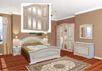 Спальня 5Д НИКОЛЬ (патина)