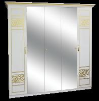 Шкаф 5ДЗ (3 зеркала) ПОЛИНА НОВА