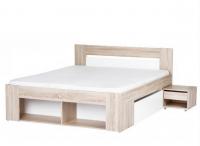 Кровать 160 с тумбами и выдвижными ящиками РИКО