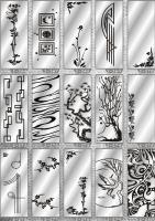 Рисунки ФЕНИКС зеркало пескоструй (пример 12)