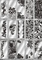 Рисунки ФЕНИКС зеркало пескоструй (пример 18)