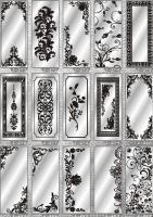 Рисунки ФЕНИКС зеркало пескоструй (пример 19)