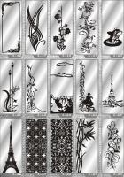 Рисунки ФЕНИКС зеркало пескоструй (пример 2)