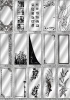 Рисунки ФЕНИКС зеркало пескоструй (пример 23)