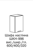 Секция верхняя ШКН-996 АСПЕКТ