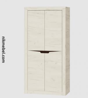 Шкаф 1000 ЛИБЕРТИ - дуб крафт белый (1)
