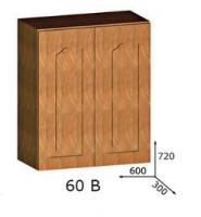 Шкафчик навесной 60 В НАДЕЖДА ДСП