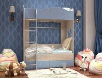 Кровать двухярусная с ящиком СИМБА