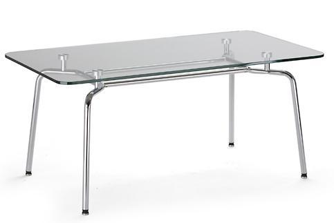 Стол HELLO Table DUO GL chrome