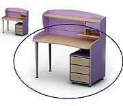 Стол письменный SI-08-2 серия SILVIA