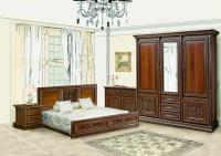 Спальня 3Дв ТОСКАНА НОВА