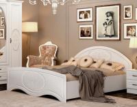 Кровать с высоким изножьем (без каркаса) ВАСИЛИСА