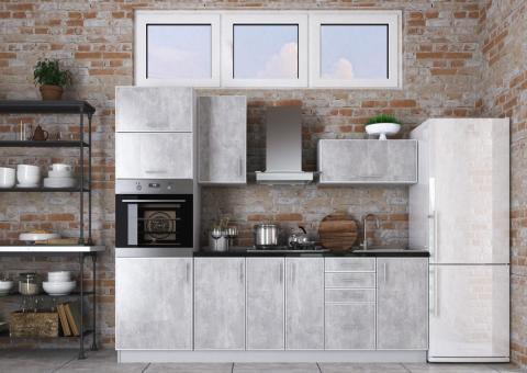 Кухня 2.4 ВИНТАЖ - индастриал