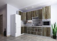 Кухня угловая ВИНТАЖ 1100*3000